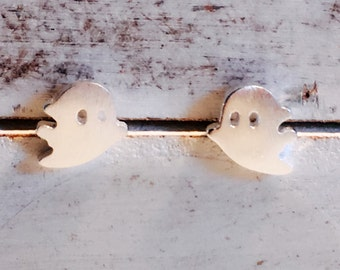 Born to be Loved. Sterling silver earrings. Ghost.