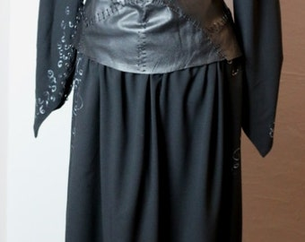 Bellatrix Lestrange inspired cosplay costume