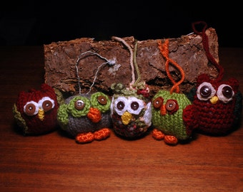 Hooty Owl Christmas Tree Ornament