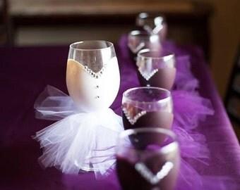 Bridal Wine Glasses