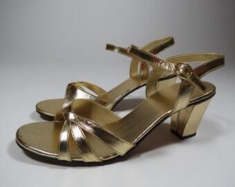 Little Golden Shoes