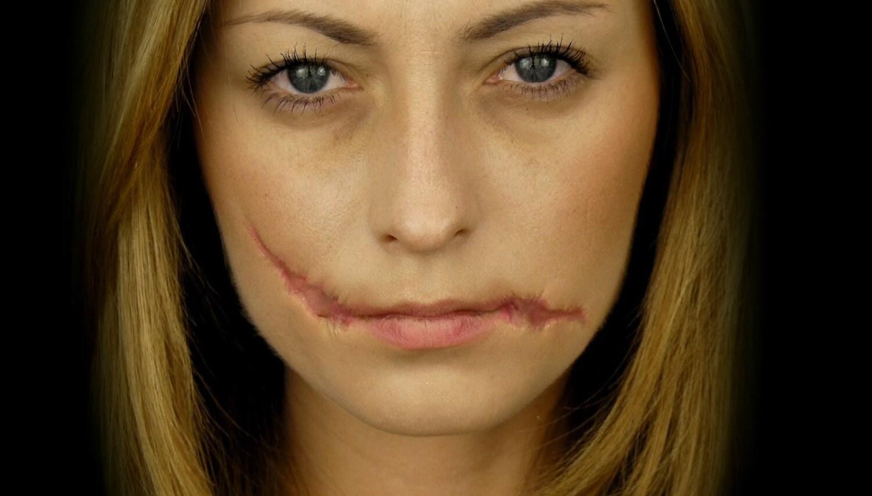 Collodion rigide sp cial maquillage fx cicatrices maquillage - Maquillage halloween cicatrice ...