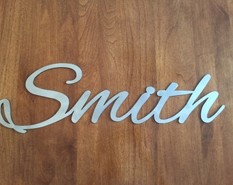 Custom Cut Metal Letters Metal Letters Custom Signsmonsonmetalco On Etsy