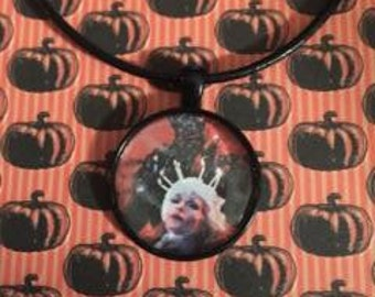 Creepshow Fathers day Circle Necklace