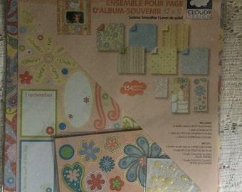 "Scrapbook Page Kit ""Sunrise Smoothie"""