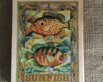Sunfish Stamp
