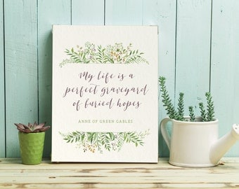 Anne of Green Gables Poster + Card