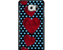 Diamond Love Pattern for Samsung Galaxy S3 / S4 / S5 / S6 / S6 Edge / S6 Edge Plus / S7 / S7 Edge Samsung Galaxy Phone Cover - Case