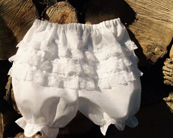 Toddler lacy bloomers rushnorder
