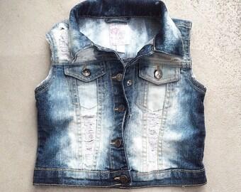 3T-4T Toddler Girl Vest
