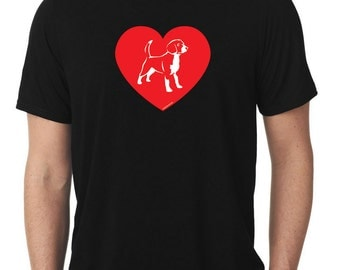 Love Beagle T-Shirt beagles T17