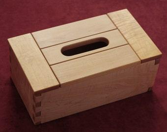 Maple puzzle box – Boîtes casse-tête