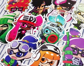 Splatoon Stickers