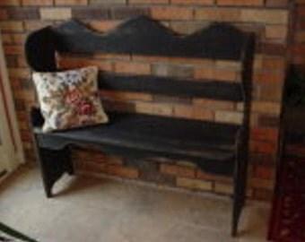 "Furniture PATTERN ""Deacon's Bench"""