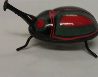Vintage Bug Wind Up Toy Trade Mark K in circle Made in Japan