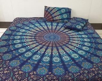 Waterburst bedsheet set
