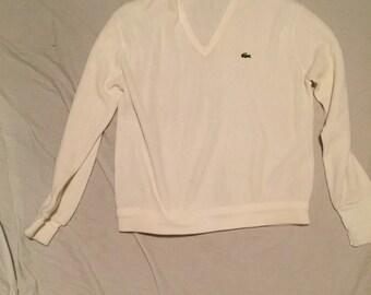 VTG Izod LaCoste Pullover Sweater