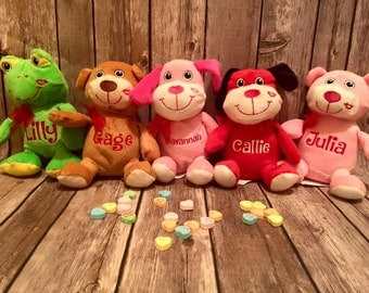 Personalized Valentine Plush  Item# 002005