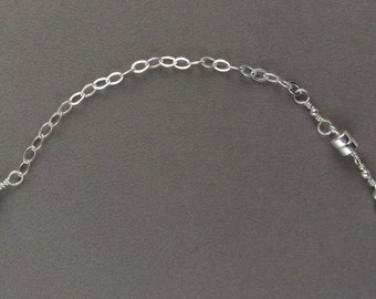 Sterling Silver Magnetic Clasp Converter / Chain Extender