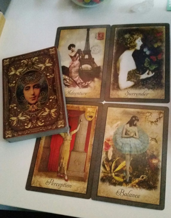 Vintage Wisdom Oracle Bonnie Cehovet: Vintage Wisdom Oracle Four Card Tarot Reading By PandorasTarot