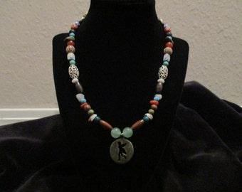 Faerie/Fairy Silhouette Necklace