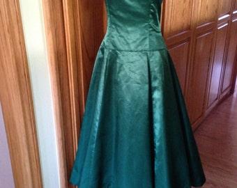 Green Homecoming Dress