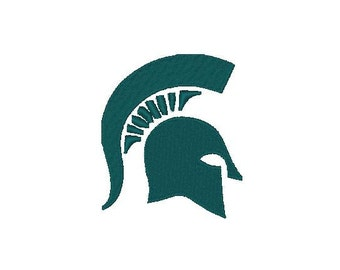 Michigan State Spartans football Logo Embroidery Design,4x4-Instant Download