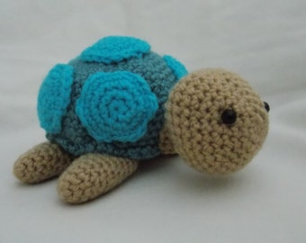 Crochet, Amigurumi Turtle, soft toy