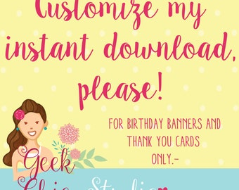 Customize my instant download item fee.