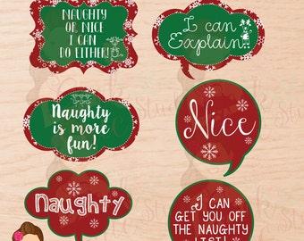Christmas, Christmas props, Printable props, Photo Booth, Digital Props, Photo Booth Props, Speech Props, Digital, Christmas Printable Props