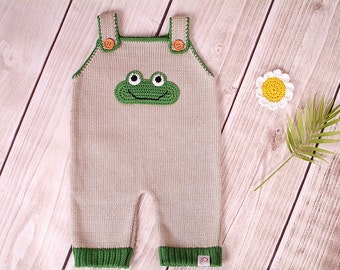 Baby romper suit carrier trousers frog