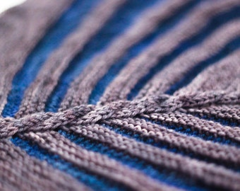 Scarf Knitting Pattern Eagle Twist PDF Pattern