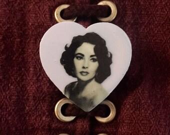 Elizabeth Taylor Pin