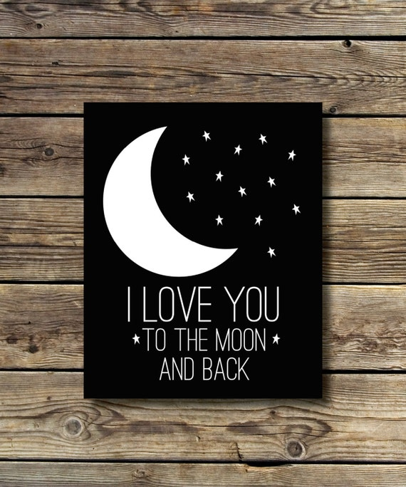 I Love You Quotes: Black & White, I Love You To The