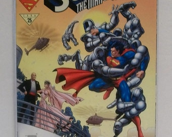 1996 SupermanThe Man Of Tomorrow #5 The Wedding Of Lex Luthor And Contessa VF-NM Unread Vintage DC Comic Book