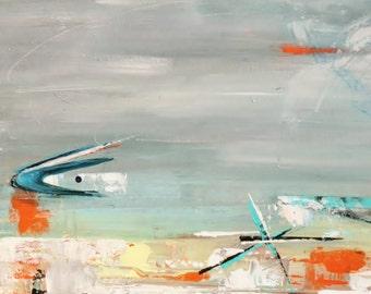abstract mid-century modern art