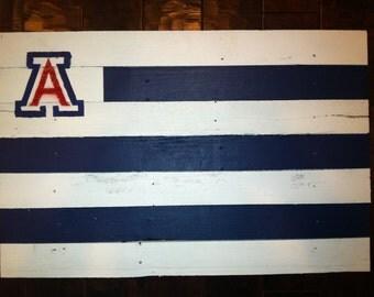 University of Arizona Wildcats Pallet Flag