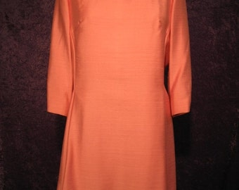 On Sale Late 1960s Mother-of-the-Bride Pink Dress
