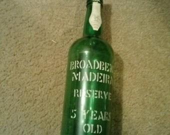 Broadbent Madeira bottle