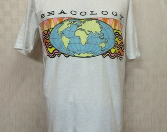 Vintage 1991 SEACOLOGY Enviro-Color / Color Change Tshirt