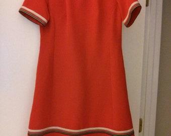 Vintage polyester dress.