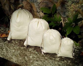 50pz-naturale cotone borse coulisse mussola promozionali borse sposa favore regalo borsa gioielli partito borse d'imballaggio