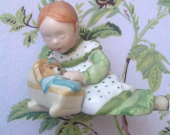 Vintage Holly Hobbie Figurine/ Holly's Friend Amy/Designers Collection - Tenderness