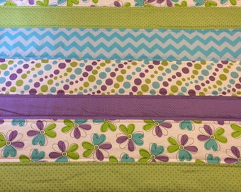 Bright and Cheerful Baby Quilt~SALE!!