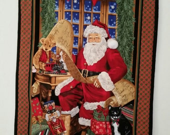 Christmas Santa Wallhanging