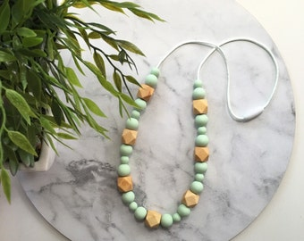 Lilly Silicone Necklace - 20 colours to choose from