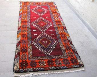 tribal runnerthick long pile colorful rugtribal rugtribal hallway runner