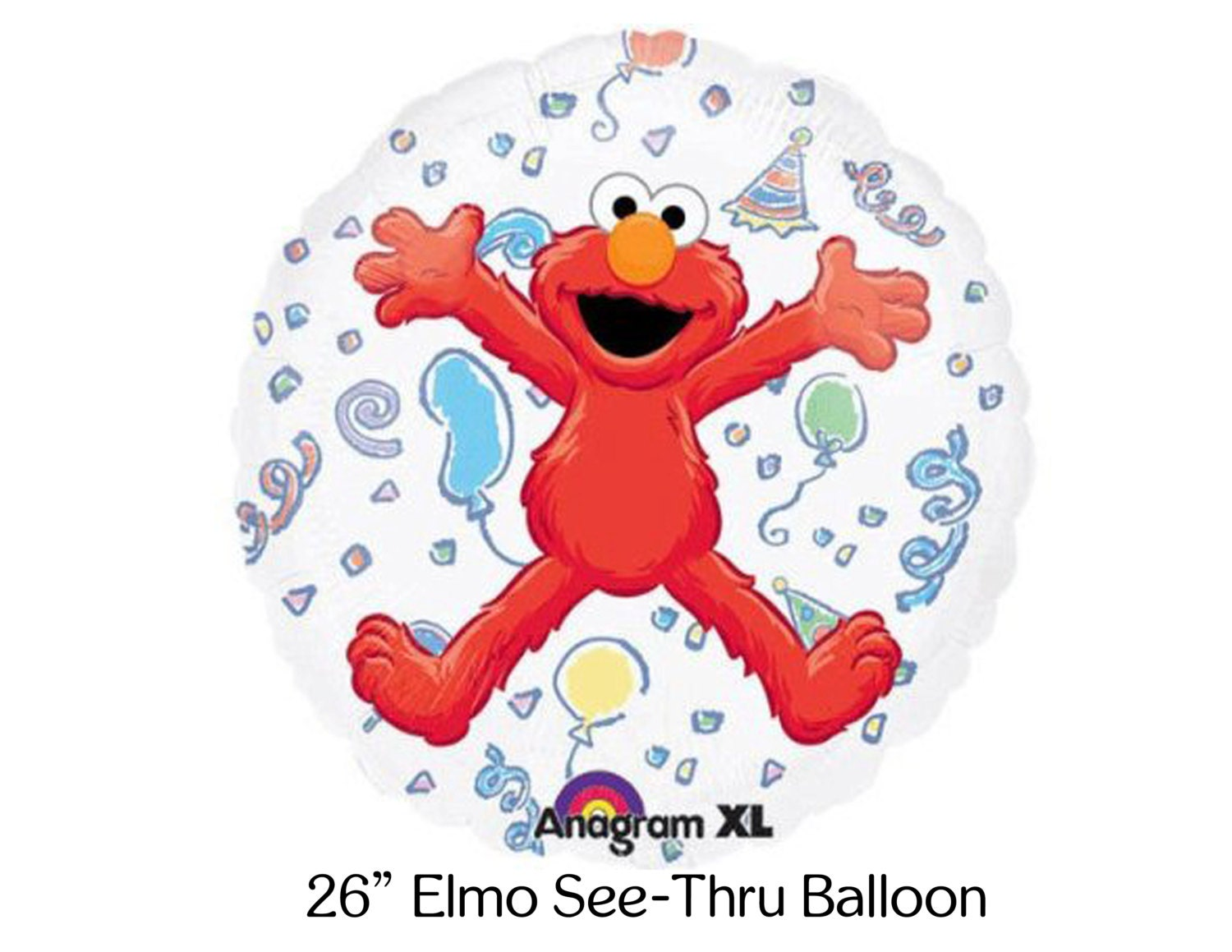 elmo coloring pages birthday balloon - photo#24