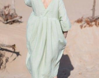 Linen Dress Motumo - 16S6