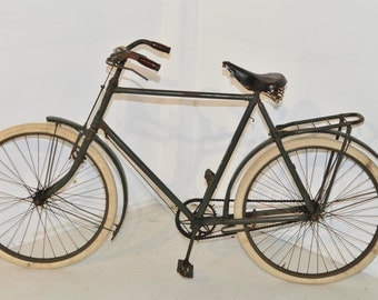 Antique French Mercury Bike a Nice Older Model Leather Seat #5579